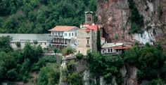proussos monastery www. Greece, Mansions, House Styles, Home, Decor, Greece Country, Decoration, Manor Houses, Villas