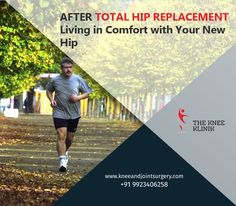 Consult with leading hip replacement surgeon,  Dr.Anshu Sachdev from The Knee Klinik provides the best treatment for your hip pain and assure that you can live happily with your new hip. #Hipreplacementsurgeon #JointReplacementSurgeon #Orthopedicsurgery #BestorthopedicClinic #hipreplacementsurgery  #JointReplacementSurgery For more details visit us http://bit.ly/2cUHDYC or contact 9923406258