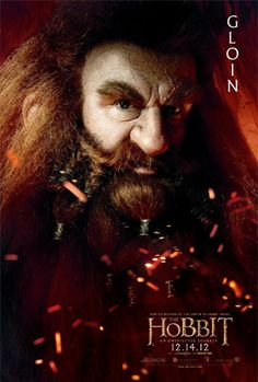 Gloin, One of the thirteen dwarves in Thorin's company anf brother of Oin. (Father of Gimli)