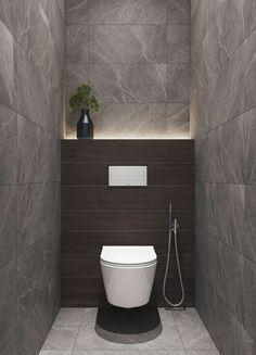 35 x Toilet Inspiration With Cool Design Toilet Ideas Of Washbasins, Floating Toilet, Tiles & Sinks - 35 x Toilet Inspiratie Met Gave Design WC Ideeën Van Wastafels, Zwevend Toilet, Tegels & Wasbakken - Washroom Design, Bathroom Design Luxury, Bathroom Layout, Modern Bathroom Design, Bathroom Ideas, Washroom Tiles, Small Toilet Design, Small Toilet Room, Modern Toilet Design