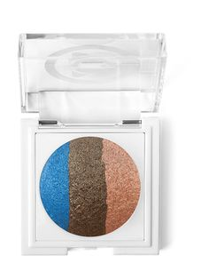Mary Kay At Play® Baked Eye Trio in Out of the Blue.  Three vibrant eye shades are expertly coordinated in perfect harmony so you can mix and match easily for endless looks!