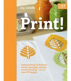 Block printing, screen printing