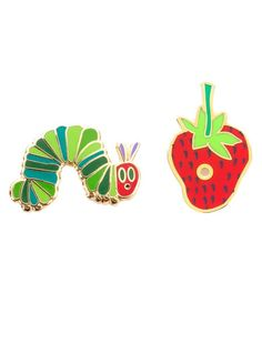 The Very Hungry Caterpillar Enamel Pin Set – Out of Print #OutofPrintClothing