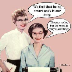 Me n' Joan...It's Our Duty