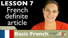 French Definite Article (Learn French With Alexa's French Essentials - v...