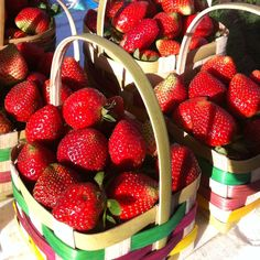 Baguio city strawberries...I loved living in Baguio
