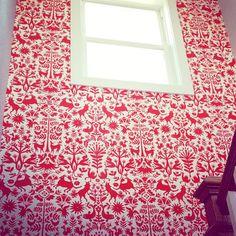 Otomi (Red) stairwell (via @jpettrone)