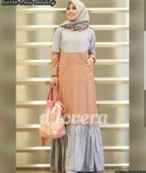 Kierra dress grey mocca