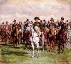 Napoleon and his Staff by Jean Louis Ernest Meissonier.