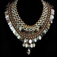 Jewelry photography by Steve Rossman. Beachwalk Necklace