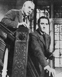 sherlock holmes with Basil Rathbone and Nigel Bruce