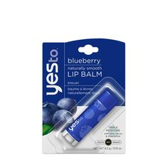 Yes to...an awesome new lip balm with a nourishing flavor that fits just about anywhere!