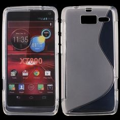 S-Line Transparent (Transparent) Motorola RAZR i-Skydd