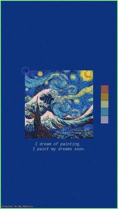 Vincent Van Gogh Lockscreen Still Life Tumblr Wallpaper, Wallpaper Pastel, Van Gogh Wallpaper, Aesthetic Pastel Wallpaper, Retro Wallpaper, Painting Wallpaper, Screen Wallpaper, Wallpaper Quotes, Aesthetic Wallpapers