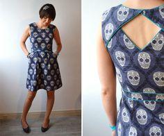 #A la Une# Marjolaine et sa robe Belladone