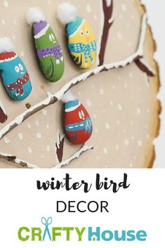 Winter Bird Decor