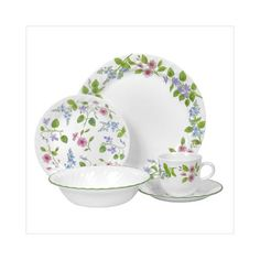 corelle dishes | 14) Corelle Lifestyles Linea 20 Piece Dinnerware Set I LOVE THESE DISHES!