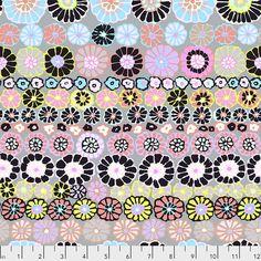 Coupon de tissu patchwork Kaffe Fassett Coleus contrast 45x55cm