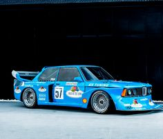 This magic 1978 BMW 320 Group 5 has history racing with GS Tuning in the Deutsche Rennsport Meisterschaft and is fresh from a restoration to race-ready condition. Sports Car Racing, Race Cars, Retro Cars, Vintage Cars, Bmw E21, Bmw Sport, Porsche 914, Bmw 2002, Bmw Classic