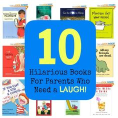 10 Books for Parents Who Have a Sense of Humor #LOL #Parenting