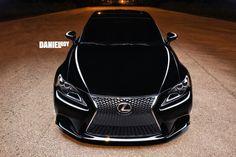 2014 Lexus IS 250 Light painted by photographer Daniel Roy