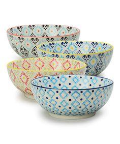 Love this Arabesque Serving Bowl Set on #zulily! #zulilyfinds