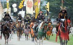 """The Last Samurai"" at Soma Nomaoi Festival on Fukushima"