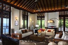 Four Seasons Resort Seychelles, interior designed by HBA/Hirsch Bedner Associates