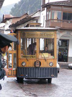 Tranvia de Cuzco #Peru style