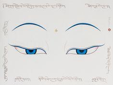 Tibetan Symbols, Tibetan Art, Buddha Buddhism, Buddhist Art, Drawing Topics, Buddha Drawing, Nepal Art, Kerala Mural Painting, Japanese Artwork