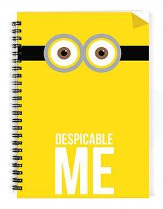 Despicable Me Notebook - 1