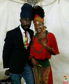 Sizzla and and his empress .