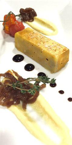 Lingote de Foie Casero con Compota de Manzana Golden y Reducción de Pedro Ximenez en El Consistorio Restaurante #fuengirola