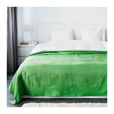 INDIRA Ágytakaró IKEA Ez a pamutból szőtt ágytakaró az ágynak vibráló, dekoratív megjelenést, neked pedig különleges melegséget és kényelmet nyújt.