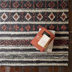 Woven Patterned Rug
