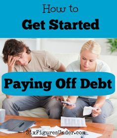 Are you ready to get serious about paying off debt but don't know where to start? Here are the important basic steps for how to get started paying off debt. - Getting started is often the hardest part. Use these tips to get motivated to pay off debt! Budgeting Finances, Budgeting Tips, Dave Ramsey, Ways To Save Money, Money Saving Tips, Money Tips, Paying Off Credit Cards, Planning Budget, Financial Tips