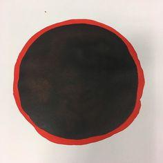 Circle of life? #art #kunst #atelier #black #orange #dots #raw #abstract #abstractart #painting #paint #ink #organic #circle #workinprogress #contemporaryart #artist #artlover #instaartist #アート #interior #dutch #dennswerk