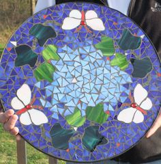 Mosaic table  My first attempt