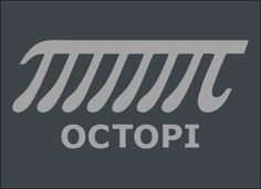 OCTOPI! Just one more a little bit of Pi Day humor. :)