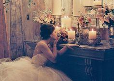 幻想的な雰囲気に包まれて♡結婚式の装飾に欠かせないキャンドルのアレンジ方法*のトップ画像