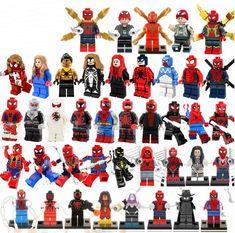 8 PZ MINI Fichi 2019 Marvel DC Super Heroes MINI FIGURES Building Blocks 2019 UK