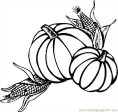 Thanksgiving Coloring Pages Free Printable intended for Inspire
