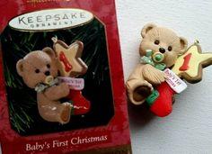 1997 Keepsake Ornament. The Teddy Bear Years. | eBay!