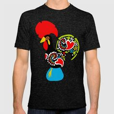 Galo de Barcelos I T-shirt by Marta Li