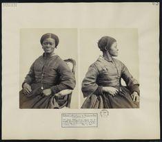 Jacques-Philippe Potteau, Louise Kuling, 1864, musée du Quai Branly-Jacques Chirac Orsay, Philippe, Expo, History, Portrait, Life, Black, Art, Black People