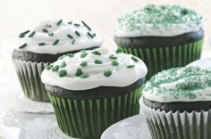 Easy Green Velvet Cupcakes from How to Bake for St. Patrick's Day with 5 Easy Recipes Slideshow