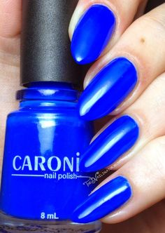 The Nailinator - Chassé - Caronia Blue Moon Collection Swatches and Review