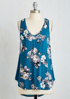 Infinite Options Top in Cerulean, @ModCloth