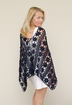 "Outstanding Crochet: New Project ""A Dozen ways to wear wrap"". Pattern."