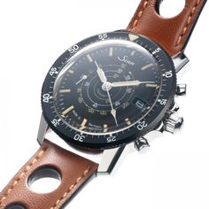 Sinn Tachymeter Chronograph Limited Edition But I want to change the strap. I hate perforated leather straps